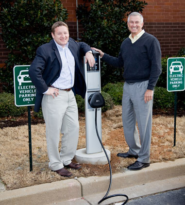 ScanSource Keeping It Green With EV Charging Station