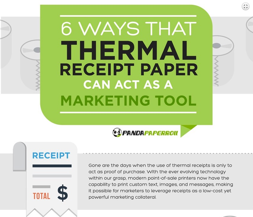 6 ways thermal paper marketing