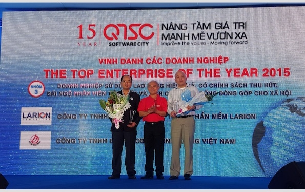 Btm Global Named Top Enterprise Of The Year By Quang