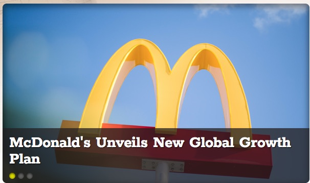 mcdonald s unveils new global growth plan   mobile order