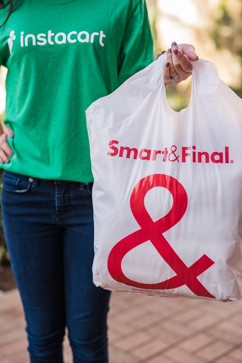 Smart and Final Stores and Instacart