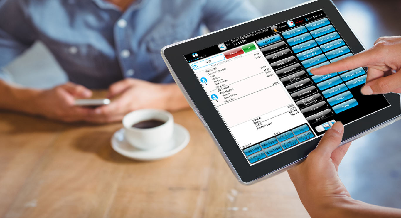PointOfSale tableside ordering tablet tableside ordering