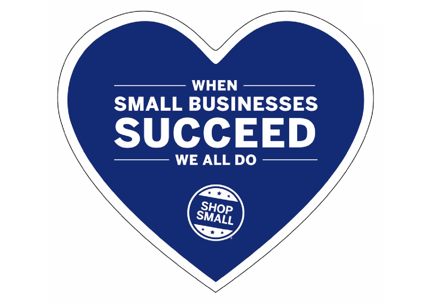 PointofSale Small Business Heart Cutout Small Business Saturday 01