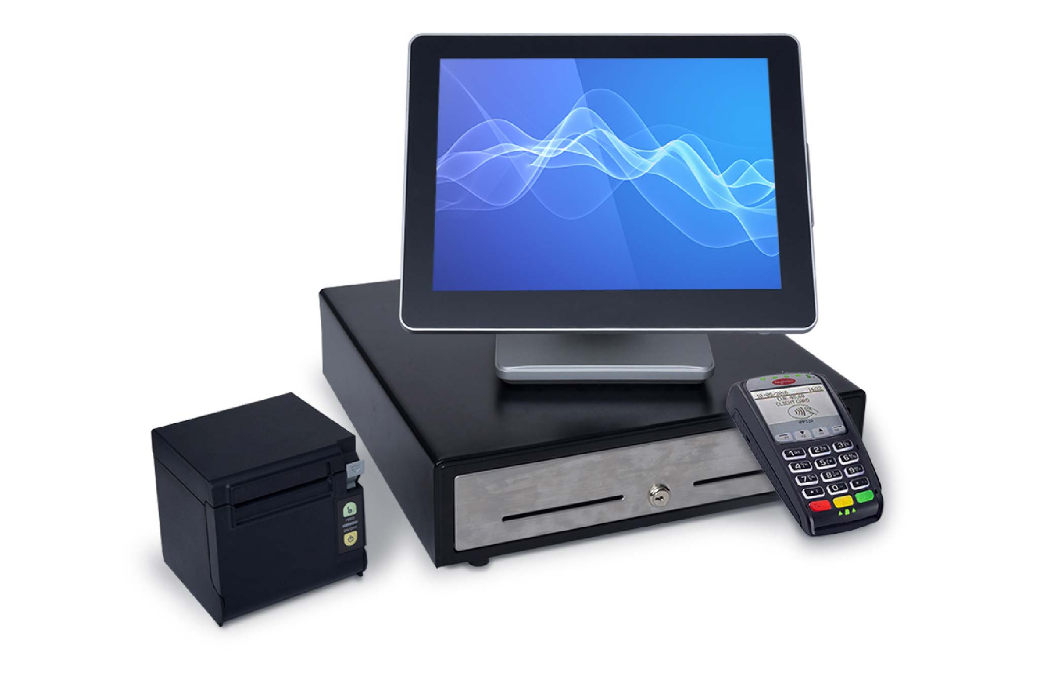 PointofSale Point of sale system cash drawer terminal receipt printer what is pos hardware