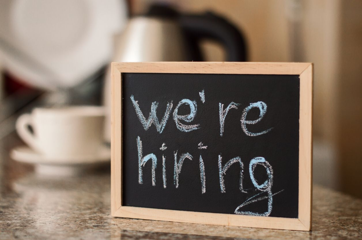 PointofSale we're hiring sign Small Business Hiring