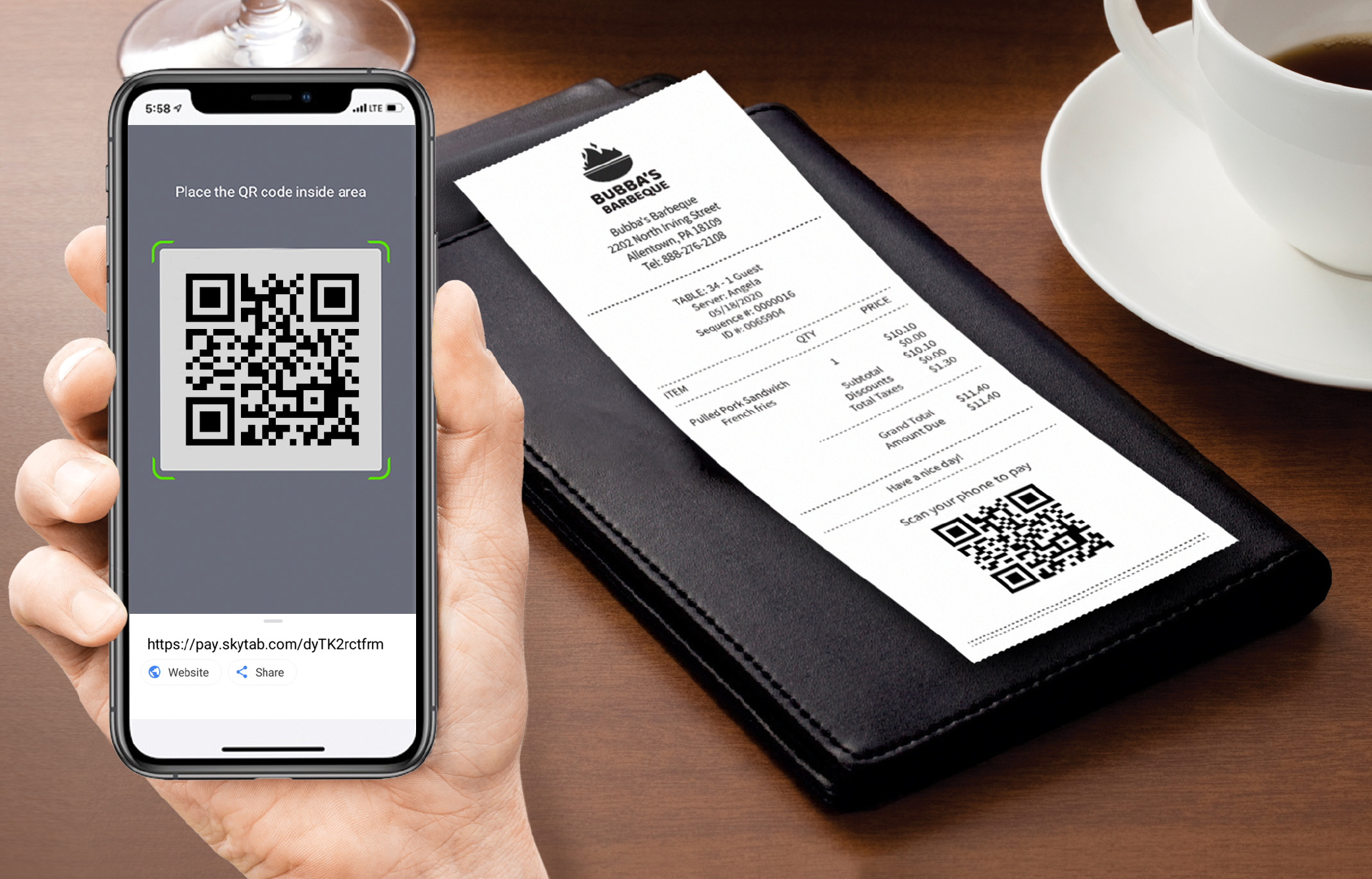 Point of Sale Shift4 Payments QR Pay-01